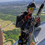 Trained tower climber rigger telecommunications expert
